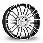 AEZ Strike Black Polished Alloy Wheels