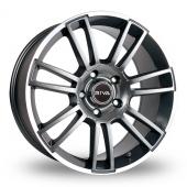 Riva ATV 5x120 Wider Rear Grey Alloy Wheels
