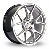 AVA Dallas Hyper Silver Alloy Wheels