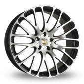 Calibre Altus Black Polished Alloy Wheels