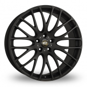 Calibre Altus Matt Black Alloy Wheels