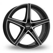 Alutec Raptr Black Polished Alloy Wheels