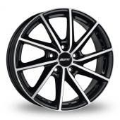 Alutec Singa Black Polished Alloy Wheels