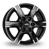 Alutec Titan Black Polished Alloy Wheels