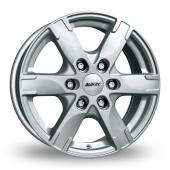 Alutec Titan Silver Alloy Wheels