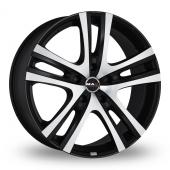 MAK Aria Ice Black Alloy Wheels