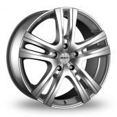 MAK Aria Silver Alloy Wheels