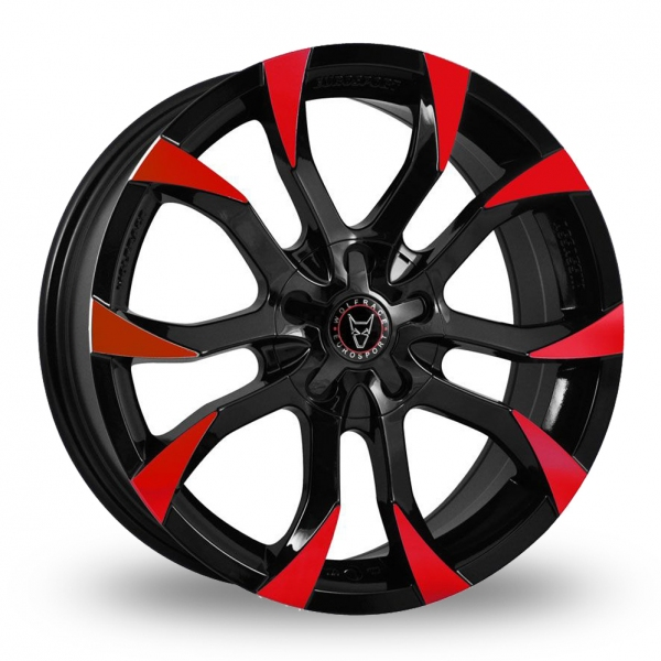 Wolfrace Assassin Black Red