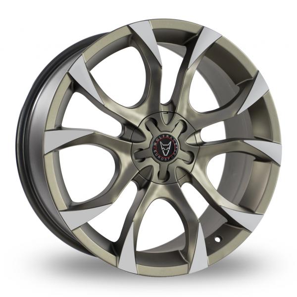 "18"" Wolfrace Assassin Bronze/Polished Alloy Wheels"