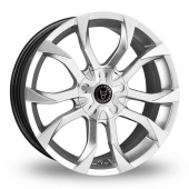 ASSASSIN SILVER Alloy Wheels