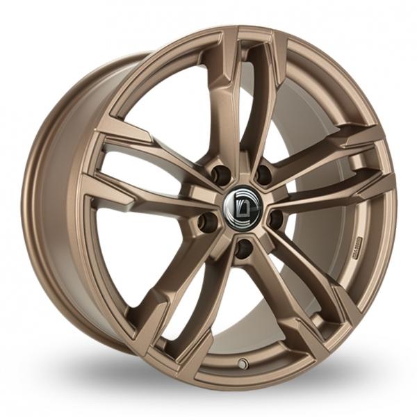 "19"" Diewe Avio Matt Bronze Wider Rear Alloy Wheels"