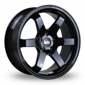 B1 GLOSS BLACK Alloy Wheels