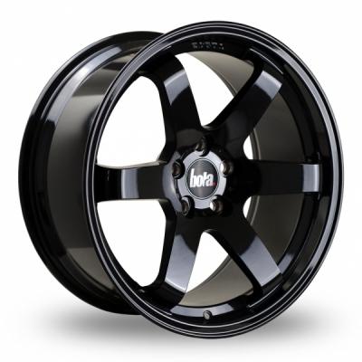 18 Inch Bola B1 Black Alloy Wheels