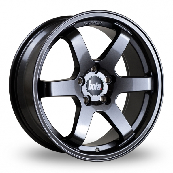 "17"" Bola B1 Gun Metal Alloy Wheels"