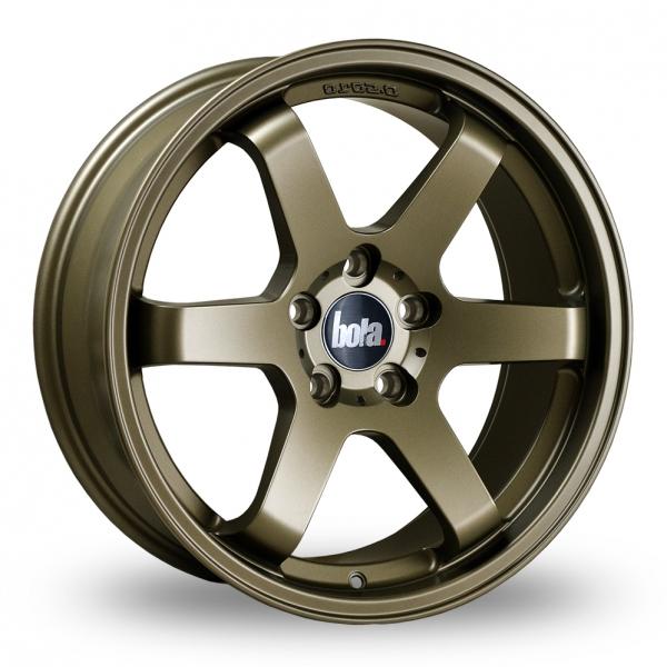 "18"" Bola B1 Matt Bronze Alloy Wheels"
