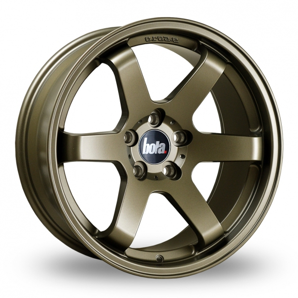 "Picture of 18"" Bola B1 Matt Bronze Wider Rear"