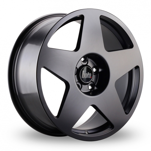 "Picture of 17"" Bola B10 Matt Black Wider Rear"