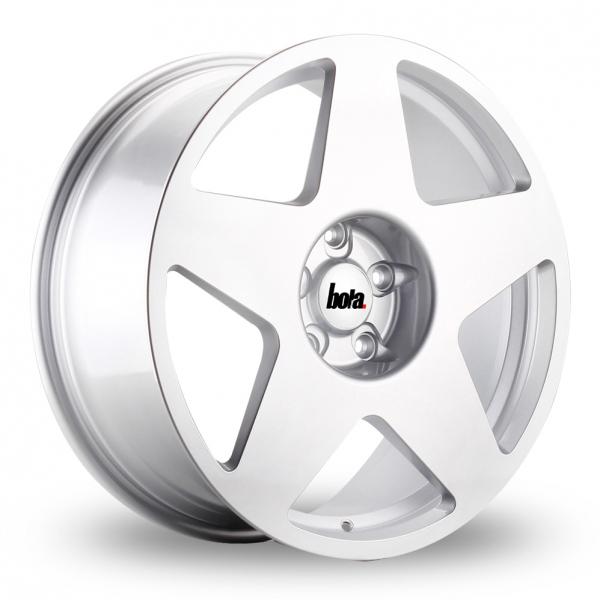 """19"""" Bola B10 Silver Alloy Wheels"""