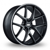 BBS CI-R Satin Black Alloy Wheels