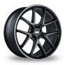 19 Inch BBS CI-R Satin Black Alloy Wheels