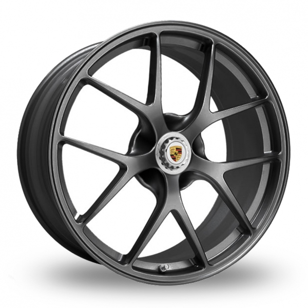 "Picture of 19"" BBS FI (Forged Individual Centre-Lock) Satin Anthracite Wider Rear"