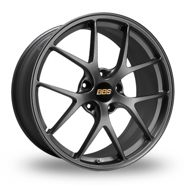 "Picture of 20"" BBS FI (Forged Individual) Satin Anthracite Wider Rear"