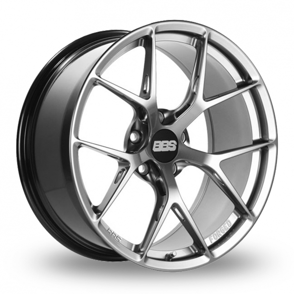 BBS FI-R  Wider Rear Platinum Silver