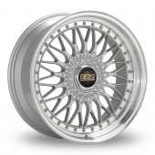 BBS Super RS Silver Alloy Wheels