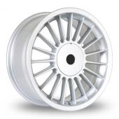 BK Racing 171 Silver Alloy Wheels