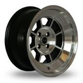 Rota BM8 Black Polished Alloy Wheels