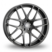 Cades Bern Accent Matt Gun Metal Alloy Wheels