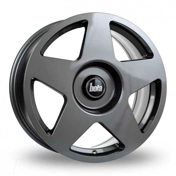 "18"" Bola B10 Gloss Gunmetal Alloy Wheels"