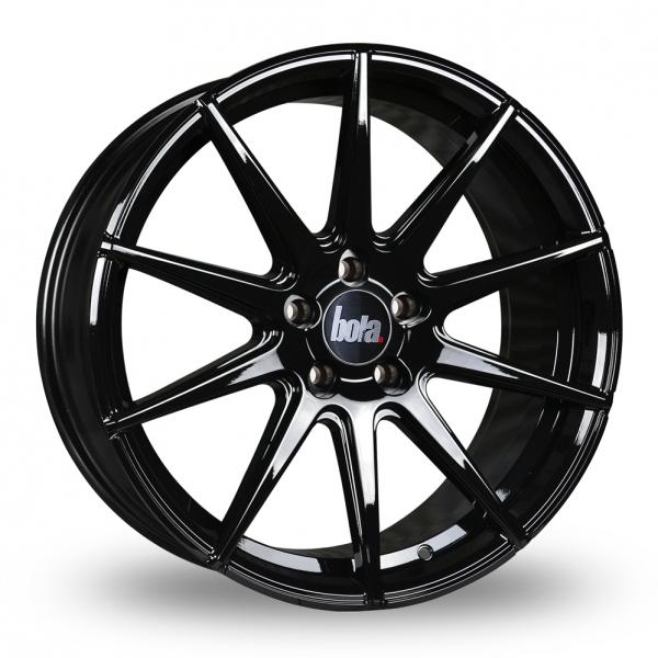 "18"" Bola CSR Gloss Black Alloy Wheels"