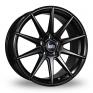 19 Inch Bola CSR Satin Black Alloy Wheels