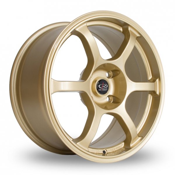"Picture of 17"" Rota Boost Gold"
