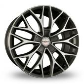 Borbet DY Grey Polished Alloy Wheels