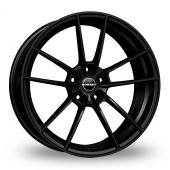 Borbet FF1 Matt Black Alloy Wheels