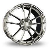 Borbet FF1 Polished Alloy Wheels
