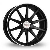 Borbet GTX Black Alloy Wheels