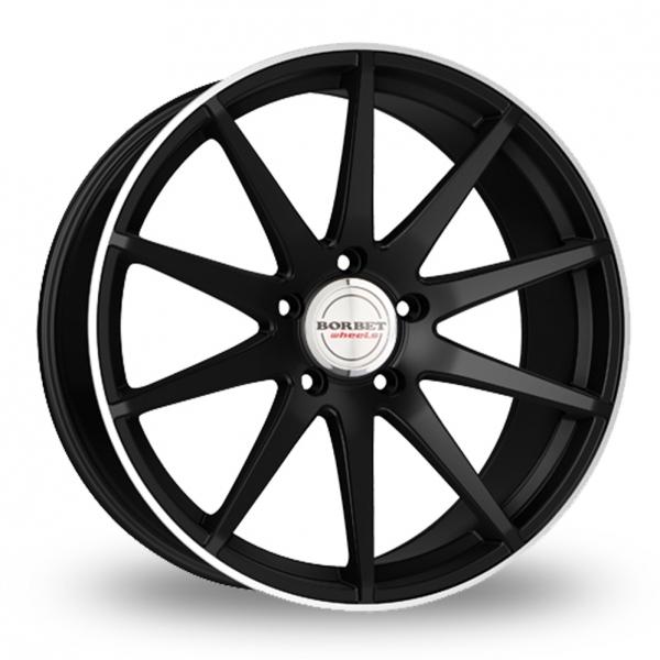 Borbet GTX Black Polished Rim
