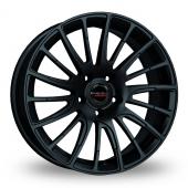 Borbet LS2 Matt Black Alloy Wheels