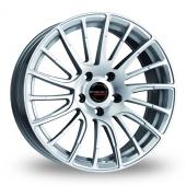 Borbet LS2 Silver Alloy Wheels