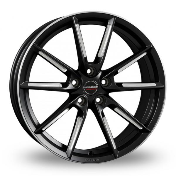 Borbet LX Black Polished Rim