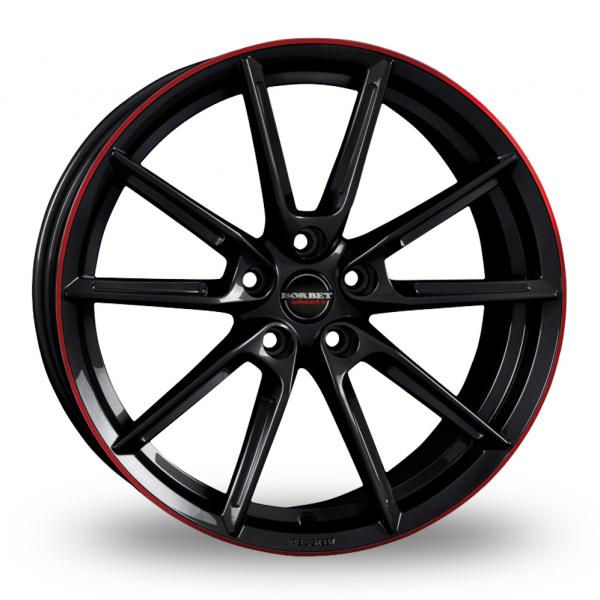Borbet LX Black Red