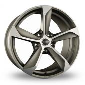 Borbet S Graphite Polished Alloy Wheels