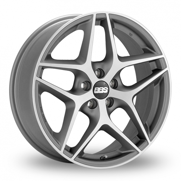"""Picture of 17"""" BBS CF Anthracite Polished"""