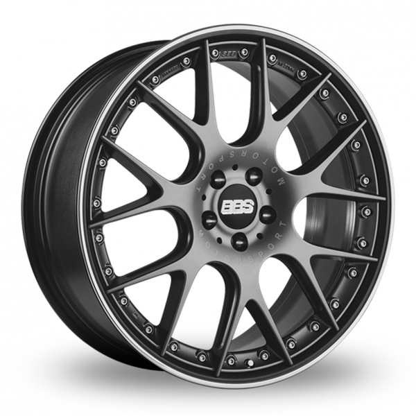 """Picture of 20"""" BBS CH-R II Satin Anthracite Wider Rear"""