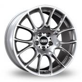 BBS CK Silver Alloy Wheels