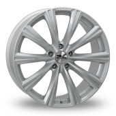 Zito CRS Silver Alloy Wheels