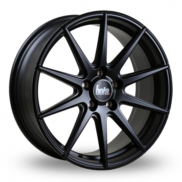 "18"" Bola CSR Matt Black Alloy Wheels"